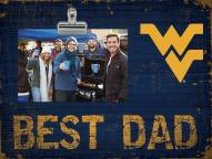 West Virginia Mountaineers Best Dad Clip Frame