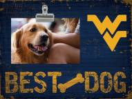 West Virginia Mountaineers Best Dog Clip Frame