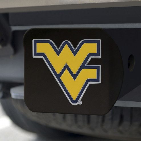 West Virginia Mountaineers Black Color Hitch Cover