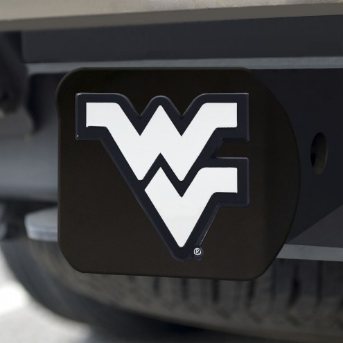 West Virginia Mountaineers Black Matte Hitch Cover