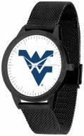 West Virginia Mountaineers Black Mesh Statement Watch