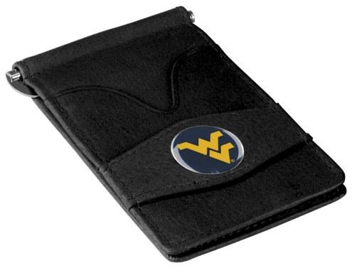 West Virginia Mountaineers Black Player's Wallet
