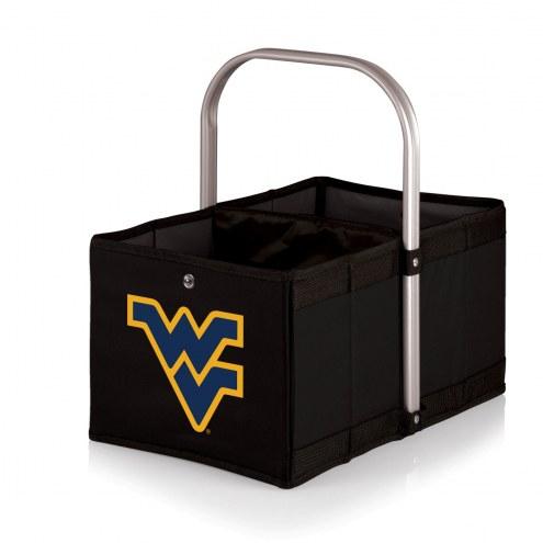West Virginia Mountaineers Black Urban Picnic Basket