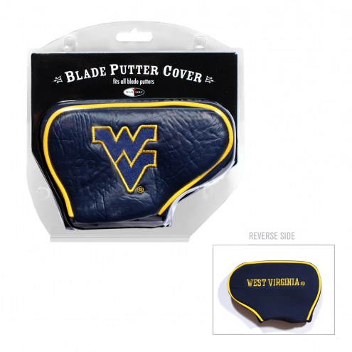 West Virginia Mountaineers Blade Putter Headcover