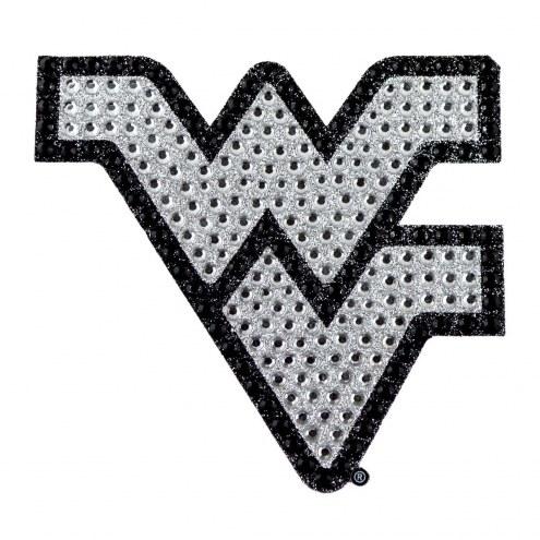 West Virginia Mountaineers Bling Car Emblem