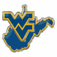 West Virginia Mountaineers Color Car Emblem