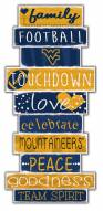 West Virginia Mountaineers Celebrations Stack Sign