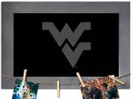 West Virginia Mountaineers Chalkboard with Frame