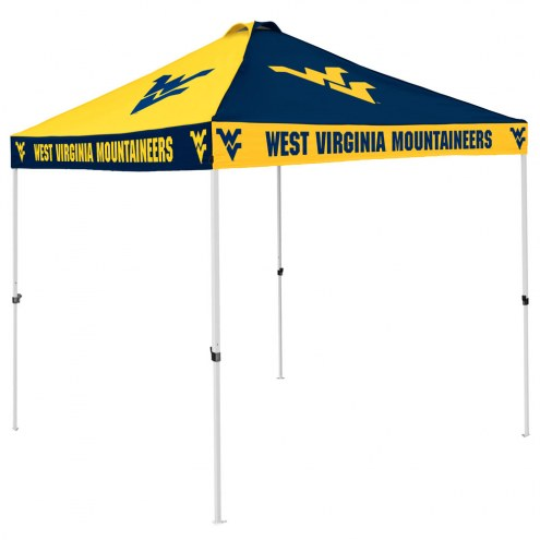 West Virginia Mountaineers 9' x 9' Checkerboard Tailgate Canopy Tent