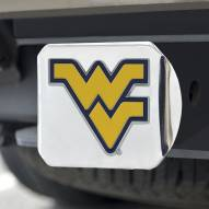 West Virginia Mountaineers Chrome Color Hitch Cover