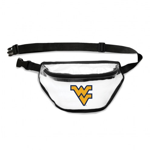 West Virginia Mountaineers Clear Fanny Pack