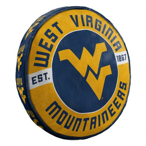 West Virginia Mountaineers Cloud Travel Pillow