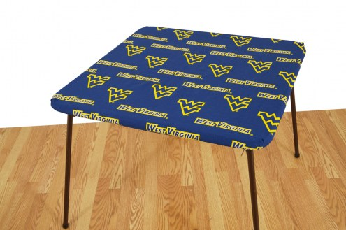 West Virginia Mountaineers Card Table Cover