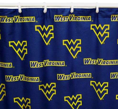 West Virginia Mountaineers Shower Curtain
