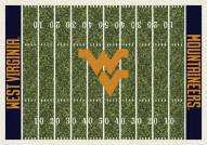West Virginia Mountaineers College Home Field Area Rug