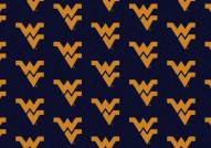 West Virginia Mountaineers College Repeat Area Rug