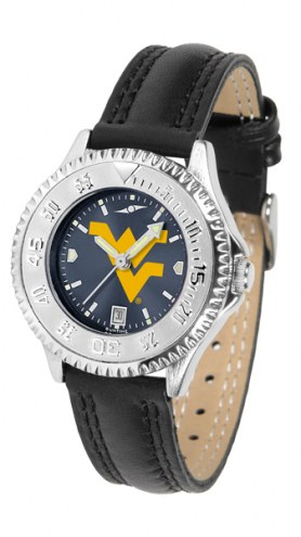 West Virginia Mountaineers Competitor AnoChrome Women's Watch