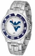 West Virginia Mountaineers Competitor Steel Men's Watch
