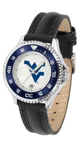 West Virginia Mountaineers Competitor Women's Watch