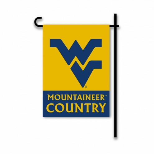 West Virginia Mountaineers Country Garden Flag