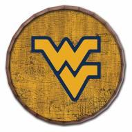 """West Virginia Mountaineers Cracked Color 24"""" Barrel Top"""