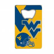 West Virginia Mountaineers Credit Card Style Bottle Opener