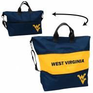 West Virginia Mountaineers Crosshatch Expandable Tote