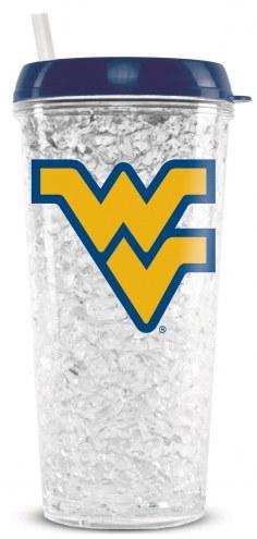 West Virginia Mountaineers Crystal Freezer Tumbler