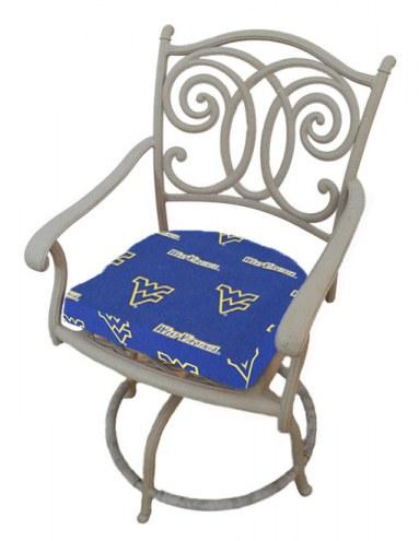 West Virginia Mountaineers D Chair Cushion