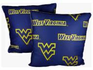 West Virginia Mountaineers Decorative Pillow Set