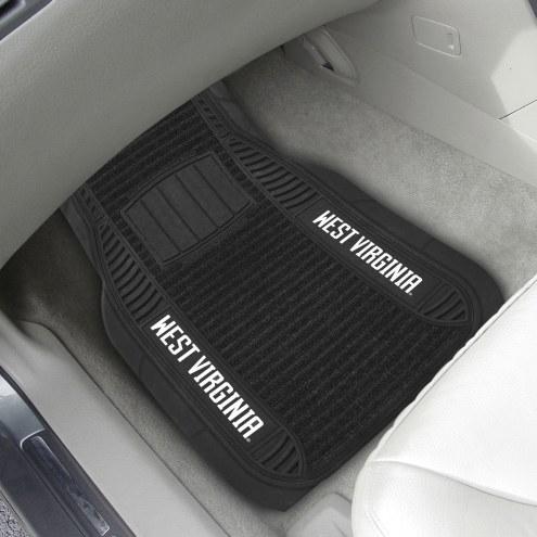 West Virginia Mountaineers Deluxe Car Floor Mat Set