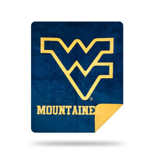 West Virginia Mountaineers Denali Sliver Knit Throw Blanket