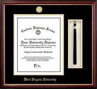 West Virginia Mountaineers Diploma Frame & Tassel Box