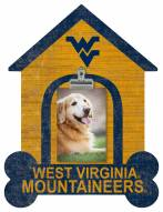 West Virginia Mountaineers Dog Bone House Clip Frame