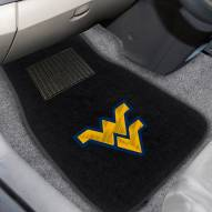 West Virginia Mountaineers Embroidered Car Mats