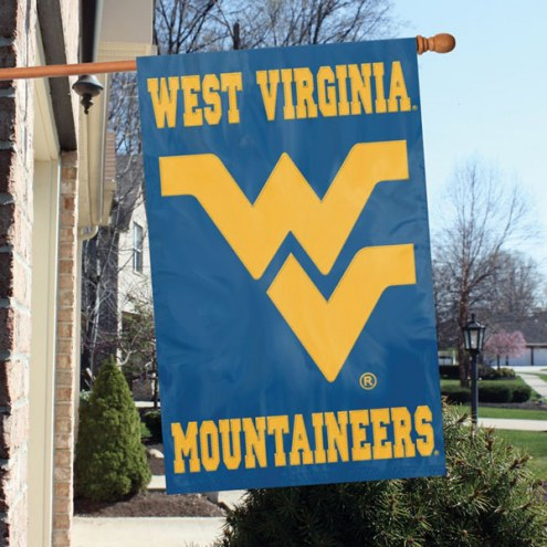 West Virginia Mountaineers NCAA Embroidered / Applique College Flag Banner