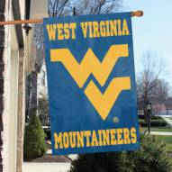 West Virginia Mountaineers NCAA Applique 2-Sided Banner Flag
