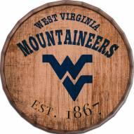 """West Virginia Mountaineers Established Date 24"""" Barrel Top"""