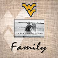 West Virginia Mountaineers Family Picture Frame