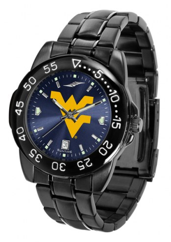 West Virginia Mountaineers Fantom Sport AnoChrome Men's Watch