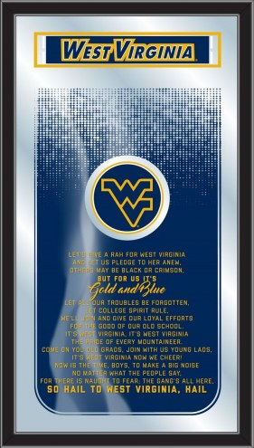West Virginia Mountaineers Fight Song Mirror