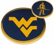 West Virginia Mountaineers Flip Coin