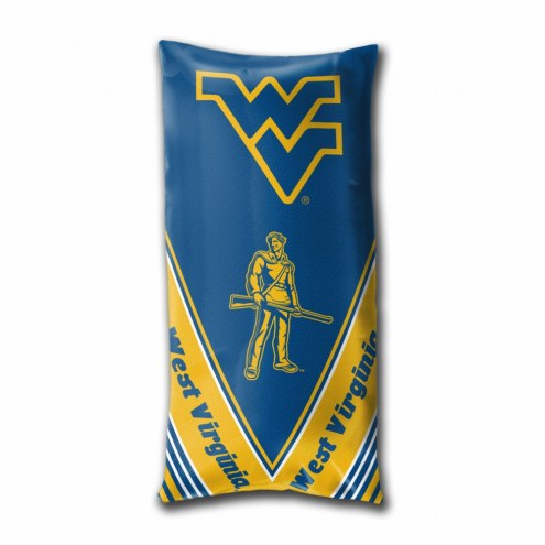 West Virginia Mountaineers Folding Body Pillow