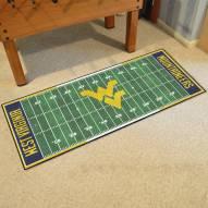 West Virginia Mountaineers Football Field Runner Rug