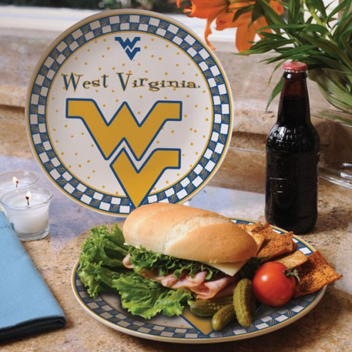 West Virginia Mountaineers Gameday Ceramic Plate
