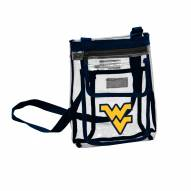 West Virginia Mountaineers Gameday Clear Crossbody Tote