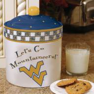 West Virginia Mountaineers Gameday Cookie Jar