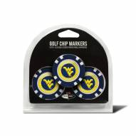 West Virginia Mountaineers Golf Chip Ball Markers
