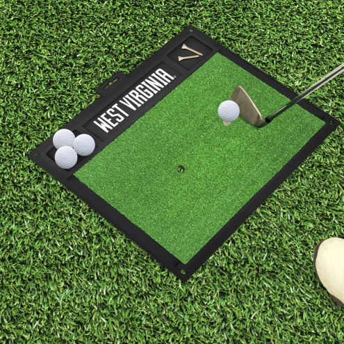 West Virginia Mountaineers Golf Hitting Mat