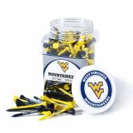 West Virginia Mountaineers 175 Golf Tee Jar